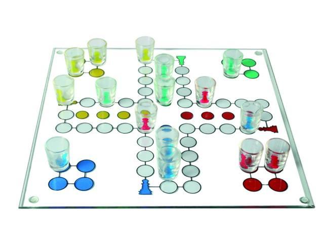 Parchís chupitos - Juegos para beber - Ideas para una Nochevieja diferente