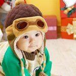 Gorro de bebé estilo aviador