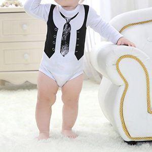 Body bebé con chaleco y corbata