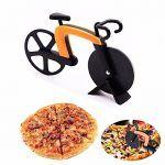 Cortador de pizzas de bicicleta - ejemplo de uso