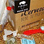 Kit para hacer cerveza artesanal detalle del contenido