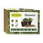 Kit de cultivo - Hierbas culinarias: Perejil, albahaca, orégano y salvia - Embalaje