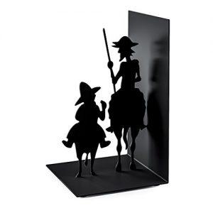 Sujetalibros de Don Quijote y Sancho