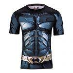 camiseta elástica batman