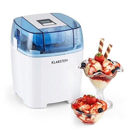Klarstein-Creamberry-mquina-de-helado-10-W-capacidad-15-litros-bajo-consumo-elaboracin-en-20-minutos-fcil-de-utilizar-apagado-automtico-pantalla-digital-blanco-0
