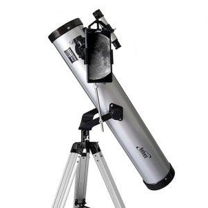 Telescopio + adaptador para móvil