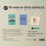 Kit Un Millón De Ideas Geniales= Tu idea mola. Porque si quieres puedes + Libreta para que todos tus proyectos se hagan realidad +Enamórate hasta las trancas de tus ideas