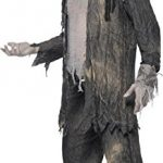 Disfraz de pirata fantasma vista lateral
