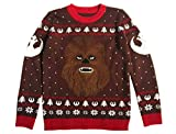 Star Wars Chewbacca Ugly Christmas Sweater Chewie - Jersey de punto multicolor M
