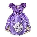 Lito Angels Bebé Niñas de Princesa Sofia Disfraces de Halloween Vestidos de Fiesta Elegantes Talla 12-18 Meses