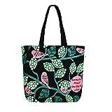 Eco Right Bolsa de lona impresa de algodón para mujeres, Bolsa de playa, Bolsa de tela para mujeres, Bolsas de regalo, Bolsas de compras, Bolsas para libros   Limones