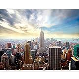Murando® Papel pintado no tejido (350x 270cm), decoración mural XXL, diseño de Nueva York - 100404-126