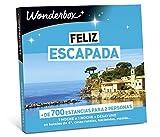 WONDERBOX Happy Caja Regalo - Feliz ESCAPADA - 1 Noche a Elegir para Dos Personas Entre más de 700 estancias: hoteles de 4*, Casas Rurales, haciendas, masías.