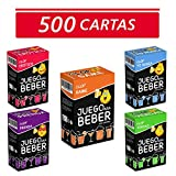 Glop 500 Cartas + App - Juegos para Beber - Juegos de Cartas para Fiestas - Juegos de Mesa - Regalos Originales