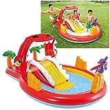 Intex 57160NP - Centro de juegos agua Happy Dino