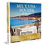 SMARTBOX - caja regalo amor para parejas - Mil y una noches de delicia - ideas regalos originales - 2 noches, desayuno y cena o 1 noche, desayuno y cena o spa o 1-2 noches con desayuno para 2 personas