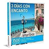 Smartbox - Caja Regalo 3 días con Encanto - Idea de Regalo para Hombre - 2 Noches con Desayuno para 2 Personas