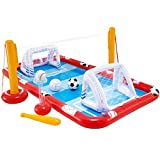 Intex 57147NP - Centro de juegos acuático hinchable INTEX, para niños, medidas 325x267x102 cm, 470 litros, voleibol, fútbol, baloncestos y béisbol, a partir de 3 años