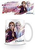 La Reine des Neiges MG25581 - Taza de cerámica (23 ml), diseño de Frozen