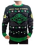 Star Wars - Jersey de punto con diseño de Yoda multicolor XXL