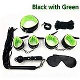 AMZ-Mall Kit de Juegos de 7 Piezas (Verde)