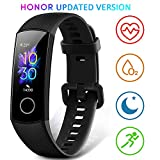 HONOR Band 5 Smartwatch Pulsera de Actividad con Pulsómetro Mujer Hombre, Monitor de Actividad Deportiva, Ritmo Cardíaco, Impermeable IP68, Reloj Fitness, con Podómetro