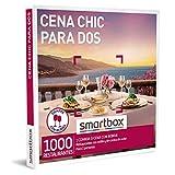 Smartbox - Caja Regalo Cena Chic para Dos - Idea de Regalo para Parejas - 1 Comida o Cena con Bebidas para 2 Personas