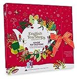 English Tea Shop Calendario de Adviento rojo Té navideño en caja estilo libro - 1 x 25 Bolsitas de té (50 gramos)