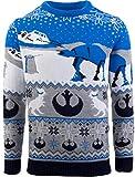 Jersey oficial de Star Wars Hoth at at at de punto de Navidad