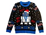 Musterbrand - Jersey de punto Star Wars R2D2 Ugly Christmas multicolor M