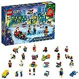 LEGO 60303 City: Calendario de Adviento de 2021, Niños a Partir de 5 Años, con Tablero de Juego y 6 Mini Figuras