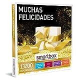 Smartbox - Caja Regalo Muchas felicidades - Idea de Regalo Original - 1 Experiencia de Estancia, gastronomía, Bienestar o Aventura para 1 o 2