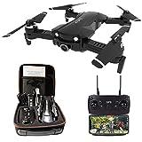 le-idea Drone con Camara 4K HD, Drone 5GHz WiFi FPV, Drones GPS con Camara Profesional, Dron Plegable RC, Modo sin Cabeza, Largo Tiempo de Vuelo 15 Minutos, Drone para Niños & Principiantes