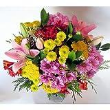 REGALAUNAFLOR-Ramo de flores variadas-FLORES NATURALES-ENTREGA EN 24 HORAS DE LUNES A SABADO