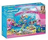 PLAYMOBIL Calendario de Adviento 70777 Sirenas Diversión en el Baño, a partir de 4 Años