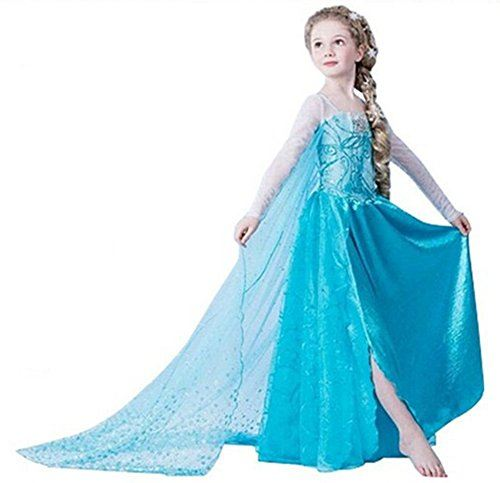 Disfraz-de-Princesa-ELSA-ANNA-de-Frozen-para-nia-6-7-aos-0