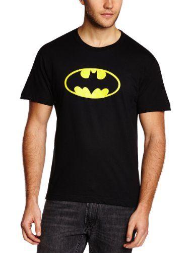 Collectors-Mine-Camiseta-de-Batman-con-cuello-redondo-de-manga-corta-para-hombre-0
