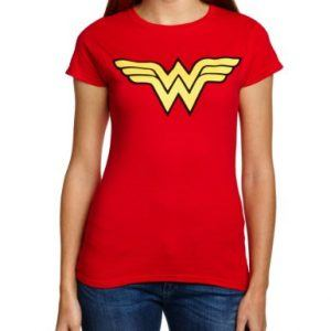 Camiseta logo Wonder Woman