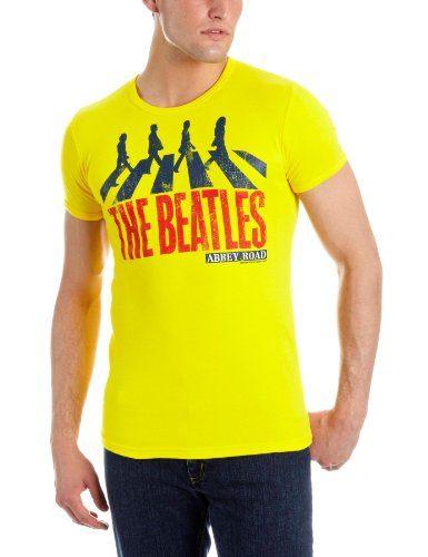 Logoshirt-Beatles-The-Vintage-Abbey-Road-Camiseta-de-grupos-de-msica-0