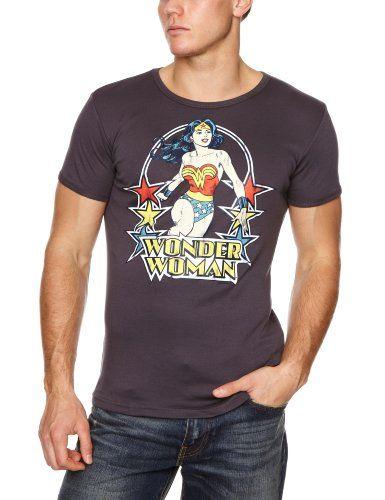 Logoshirt-Camiseta-DC-Wonder-Woman-Stars-0