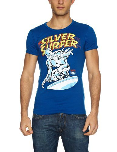 Logoshirt-Camiseta-Marvel-Silver-Surfer-0