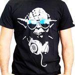 Star-Wars-Dj-Yoda-Cool-Camiseta-Hombre-0