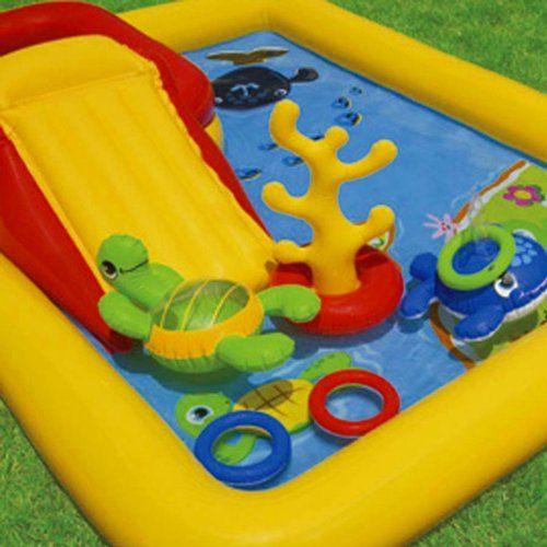 Piscina centro de juegos tortuga mil ideas para regalar for Piscina para tortugas