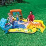 Piscina - Centro de juegos Dinosaurio - Para 3 niños o hasta 80 kg
