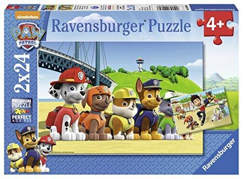 Paw-Patrol-Puzzle-doble-24-piezas-Ravensburger-641321-0