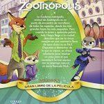 Zootrópolis, el libro de la película contraportada