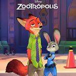 Zootrópolis, el libro de la película portada