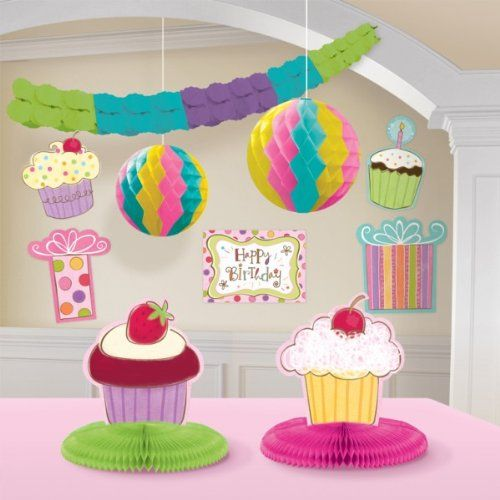 Amscan-International-Decoracin-para-cumpleaos-10-unidades-0