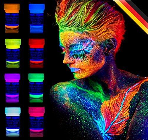 neon-nights-8-x-Pintura-Corporal-UV-Luz-Negra-Pintura-Arte-Corporal-Nen-Maquillaje-0