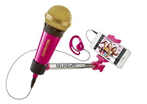 Micrófono selfi - Selfie Mic rosa